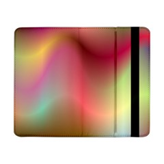 Colorful Colors Wave Gradient Samsung Galaxy Tab Pro 8 4  Flip Case