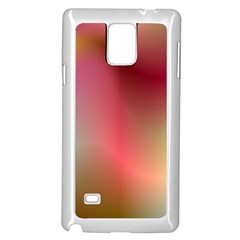 Colorful Colors Wave Gradient Samsung Galaxy Note 4 Case (white)