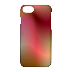 Colorful Colors Wave Gradient Apple Iphone 7 Hardshell Case