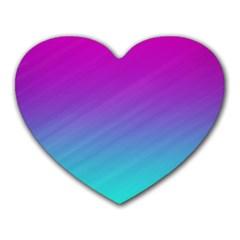 Background Pink Blue Gradient Heart Mousepads