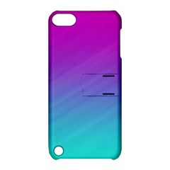 Background Pink Blue Gradient Apple Ipod Touch 5 Hardshell Case With Stand