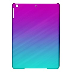 Background Pink Blue Gradient Ipad Air Hardshell Cases