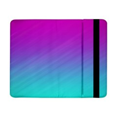 Background Pink Blue Gradient Samsung Galaxy Tab Pro 8 4  Flip Case