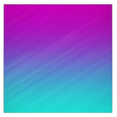 Background Pink Blue Gradient Large Satin Scarf (square)