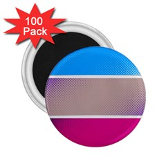 Pattern Template Banner Background 2 25  Magnets (100 Pack)