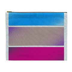 Pattern Template Banner Background Cosmetic Bag (xl)