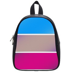 Pattern Template Banner Background School Bag (small)