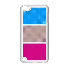 Pattern Template Banner Background Apple Ipod Touch 5 Case (white)