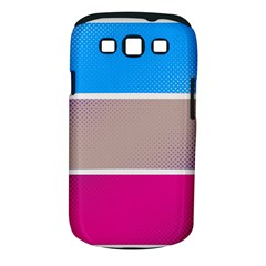 Pattern Template Banner Background Samsung Galaxy S Iii Classic Hardshell Case (pc+silicone)