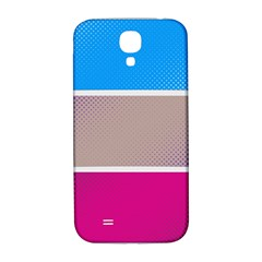 Pattern Template Banner Background Samsung Galaxy S4 I9500/i9505  Hardshell Back Case