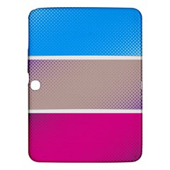 Pattern Template Banner Background Samsung Galaxy Tab 3 (10 1 ) P5200 Hardshell Case