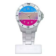 Pattern Template Banner Background Plastic Nurses Watch