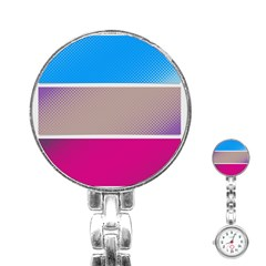 Pattern Template Banner Background Stainless Steel Nurses Watch