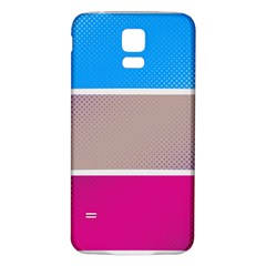 Pattern Template Banner Background Samsung Galaxy S5 Back Case (white)