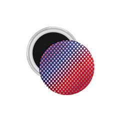 Dots Red White Blue Gradient 1 75  Magnets