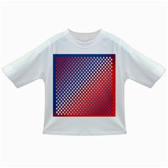Dots Red White Blue Gradient Infant/toddler T Shirts