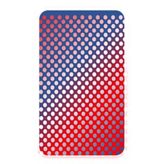 Dots Red White Blue Gradient Memory Card Reader