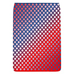 Dots Red White Blue Gradient Flap Covers (s)