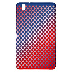 Dots Red White Blue Gradient Samsung Galaxy Tab Pro 8 4 Hardshell Case