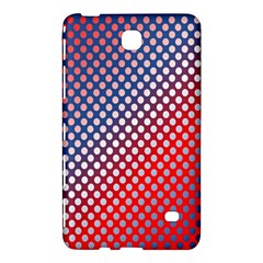 Dots Red White Blue Gradient Samsung Galaxy Tab 4 (7 ) Hardshell Case