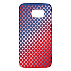 Dots Red White Blue Gradient Galaxy S6