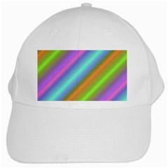 Background Course Abstract Pattern White Cap