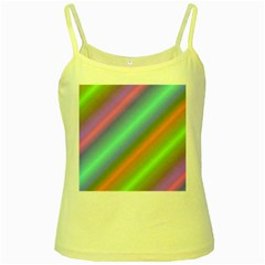 Background Course Abstract Pattern Yellow Spaghetti Tank