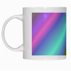 Background Course Abstract Pattern White Mugs