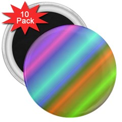 Background Course Abstract Pattern 3  Magnets (10 Pack)