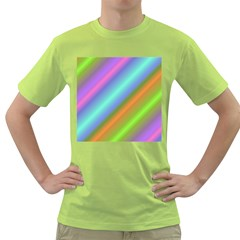 Background Course Abstract Pattern Green T Shirt