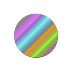 Background Course Abstract Pattern Magnet 3  (round)