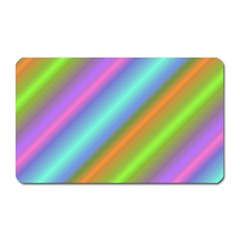 Background Course Abstract Pattern Magnet (rectangular)
