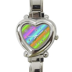 Background Course Abstract Pattern Heart Italian Charm Watch