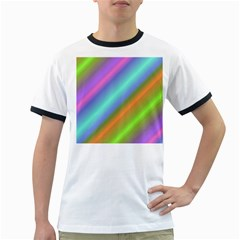 Background Course Abstract Pattern Ringer T Shirts