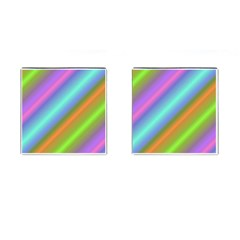 Background Course Abstract Pattern Cufflinks (square)