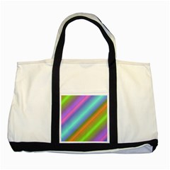 Background Course Abstract Pattern Two Tone Tote Bag