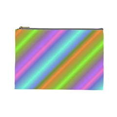 Background Course Abstract Pattern Cosmetic Bag (large)