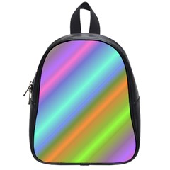 Background Course Abstract Pattern School Bag (small)