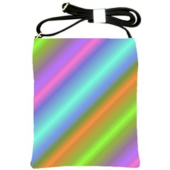Background Course Abstract Pattern Shoulder Sling Bags