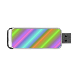 Background Course Abstract Pattern Portable Usb Flash (two Sides)