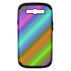 Background Course Abstract Pattern Samsung Galaxy S Iii Hardshell Case (pc+silicone)