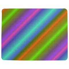 Background Course Abstract Pattern Jigsaw Puzzle Photo Stand (rectangular)