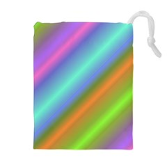 Background Course Abstract Pattern Drawstring Pouches (extra Large)