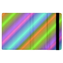 Background Course Abstract Pattern Apple Ipad Pro 9 7   Flip Case