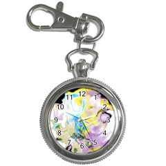 Watercolour Watercolor Paint Ink Key Chain Watches