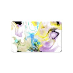 Watercolour Watercolor Paint Ink Magnet (name Card)
