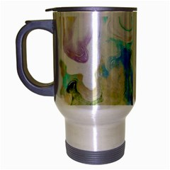 Watercolour Watercolor Paint Ink Travel Mug (silver Gray)