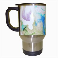 Watercolour Watercolor Paint Ink Travel Mugs (white)