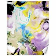 Watercolour Watercolor Paint Ink Canvas 18  X 24