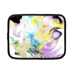 Watercolour Watercolor Paint Ink Netbook Case (small)